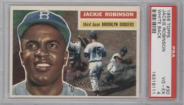 1956 Topps #30WB - Jackie Robinson [PSA4]