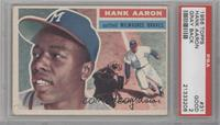 Hank Aaron (Gray Back) [PSA 2]