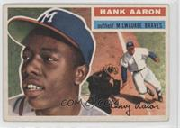 Hank Aaron Grey Back [Good to VG‑EX]