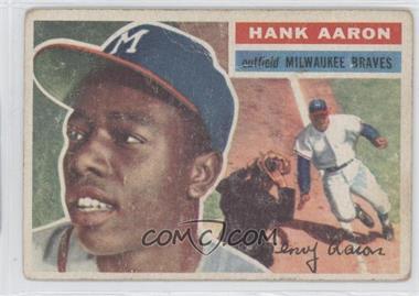 1956 Topps #31WB - Hank Aaron