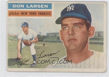 1956 Topps #332 - Don Larsen