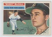 Windy McCall (Gray Back) [Good to VG‑EX]