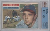 Jim Hegan (White Back) [BVG/JSA Certified Auto]