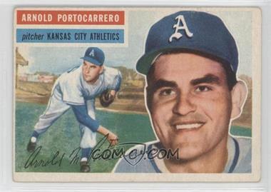 1956 Topps #53.1 - Arnie Portocarrero (Gray Back)