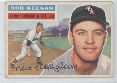 1956 Topps #54.1 - Bob Keegan (grey back)