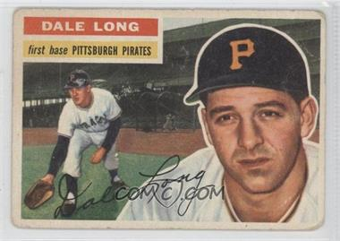 1956 Topps #56.1 - Dale Long (Gray Back)