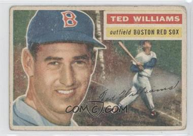 1956 Topps #5WB - Ted Williams