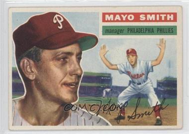 1956 Topps #60.1 - Mayo Smith (Gray Back)