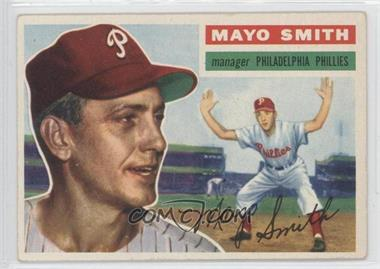 1956 Topps #60.1 - Mayo Smith (grey back)