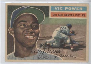 1956 Topps #67 - Vic Power