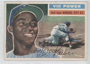 1956 Topps #67.1 - Vic Power (Gray Back)