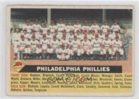 Philadelphia Phillies Team (Gray Back, Team Name Centered) [GoodtoV…