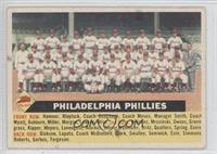 Philadelphia Phillies Team (No Date, Team Name at Left)