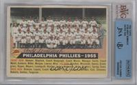 Philadelphia Phillies Team (With Date-1955) [BVG/JSA Certified Auto]