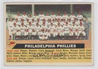 Philadelphia Phillies Team (With Date-1955) [GoodtoVG‑EX]