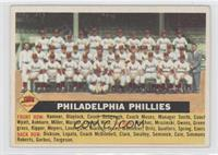 Philadelphia Phillies Team (No Date, Team Name Centered) [Good to VG&…