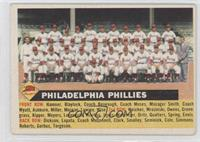 Philadelphia Phillies Team (No Date, Team Name at Left) [Good to VG&#…