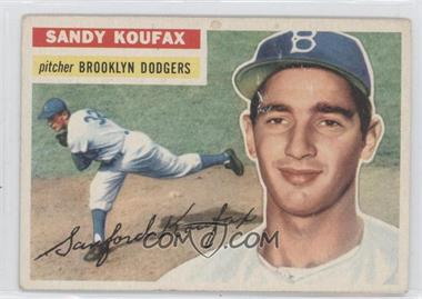 1956 Topps #79.1 - Sandy Koufax (Gray Back)
