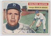 Walter Alston (grey back)