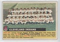 Cleveland Indians Team (White Back, Team Name Left) [Good to VG&#8209…