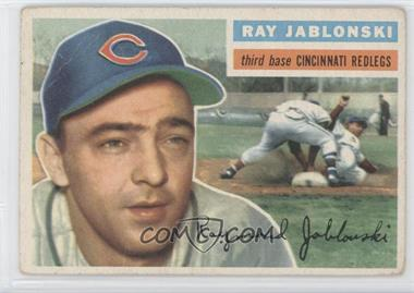 1956 Topps #86.1 - Ray Jablonski (Gray Back)