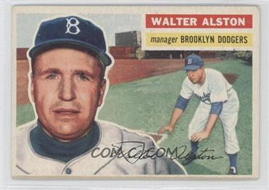 1956 Topps #8GB - Walter Alston