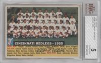 Cincinnati Redlegs Team (Dated 1955) [BVG 5]