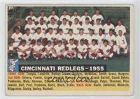Cincinnati Redlegs Team (White Back, Team Name and Year) [Good to VG&…