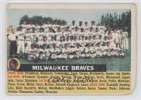 Milwaukee Braves Team (name centered/white back) [PoortoFair]
