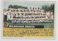 Milwaukee Braves Team (Gray Back, Team Name Left)