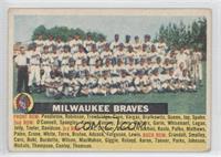 Milwaukee Braves Team (name centered/grey back) [GoodtoVG‑EX]