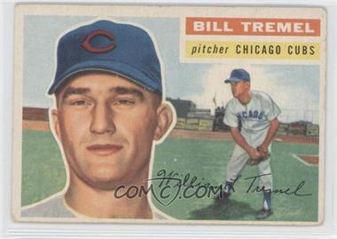 1956 Topps #96.1 - Bill Tremel (grey back)