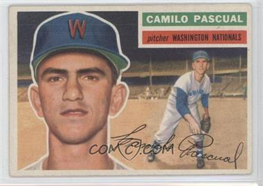 1956 Topps #98.1 - Camilo Pascual (Gray Back)