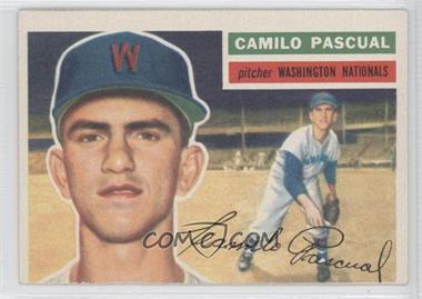 1956 Topps #98.2 - Camilo Pascual (white back)