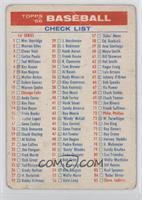 1st & 3rd Series Check List [PoortoFair]