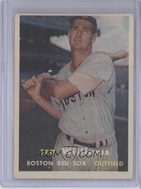 1957 Topps - [Base] #1 - Ted Williams [GoodtoVG‑EX]