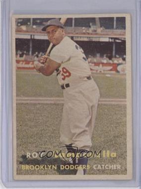 1957 Topps - [Base] #210 - Roy Campanella [GoodtoVG‑EX]