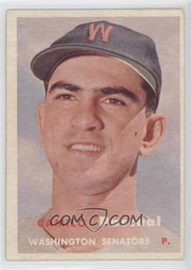 1957 Topps - [Base] #211 - Camilo Pascual