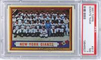 New York Giants Team [PSA 7]