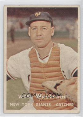 1957 Topps - [Base] #323 - Wes Westrum [GoodtoVG‑EX]