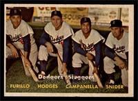 Dodgers' Sluggers (Furillo, Hodges, Campanella, Snider) [EX]