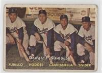 Dodgers' Sluggers (Furillo, Hodges, Campanella, Snider) [Poor]