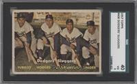Dodgers' Sluggers (Furillo, Hodges, Campanella, Snider) [SGC40]