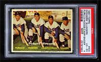Dodgers' Sluggers (Furillo, Hodges, Campanella, Snider) [PSA4]