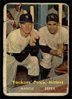 Yankees' Power Hitters (Mickey Mantle, Yogi Berra) [POOR]