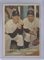 Yankees' Power Hitters (Mickey Mantle, Yogi Berra) [GoodtoVG‑…