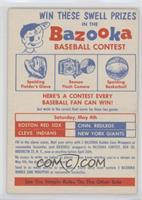 1st Contest (Prizes: Spalding Glove, Beacon Camera, Spalding Basketball)
