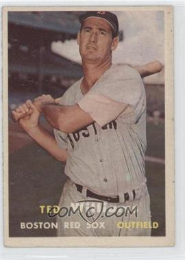 1957 Topps #1 - Ted Williams
