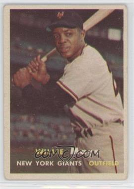 1957 Topps #10 - Willie Mays