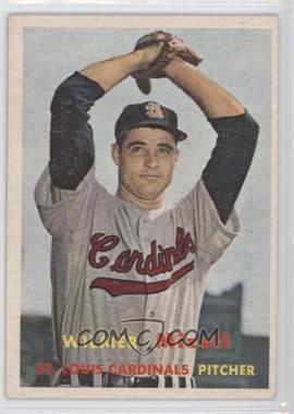 1957 Topps #113 - Wilmer Mizell